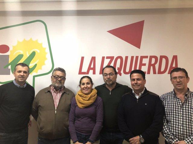 Reunión de presidentes de ELAs con dirigentes de IU