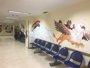 Foto: Estudiantes de Bellas Artes decoran con dibujos los pasillos de Radiodiagnóstico del Hospital Materno Infantil