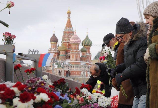 Aniversario de la muerte de Boris Nemtsov, febrero de 2018
