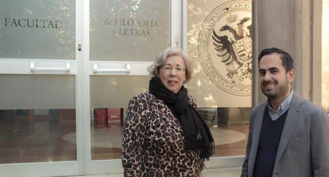Los directores del Congreso Internacional 'Recordar la Guerra, Construir la Paz'