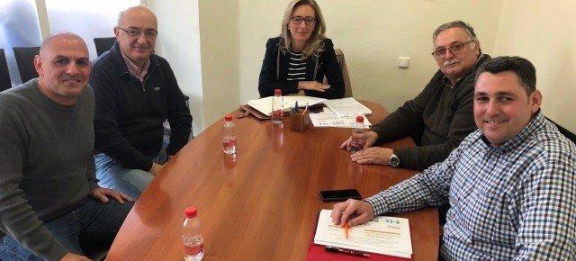 Reunión del PP de Melilla con sindicatos sobre la cárcel