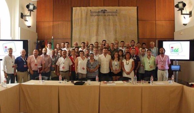 Reunión de alcaldes de IU Andalucía