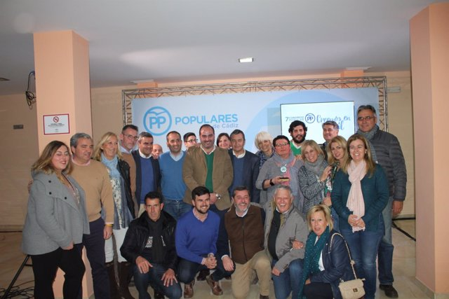 Congreso local del PP de Conil (Cádiz)