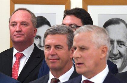 Michael McCormack jura su cargo como nuevo viceprimer ministro de Australia en sustitución de Barnaby Joyce