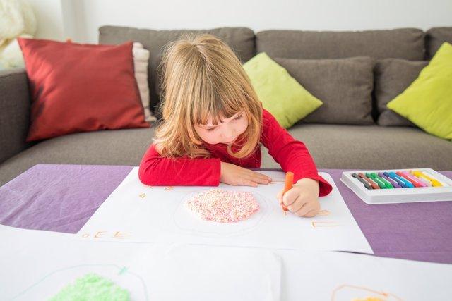 Niños zurdos, aprender a escribir