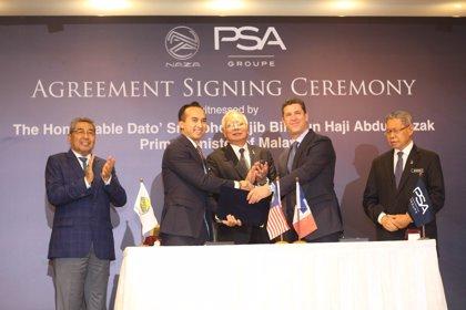 PSA fabricará, junto con Naza, vehículos de sus marcas en Malasia desde 2018