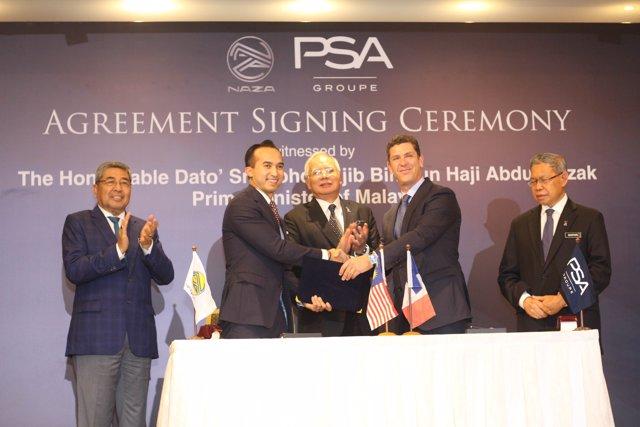 Acuerdo de PSA y Naza