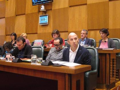 Zaragoza.- Pleno.- ZEC,  PSOE y CHA aprueban el presupuesto de 2018 que tendrá 65 millones de inversión