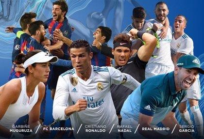 Nadal, Muguruza, Sergio García, Real Madrid y Barça optan a ganar un Laureus