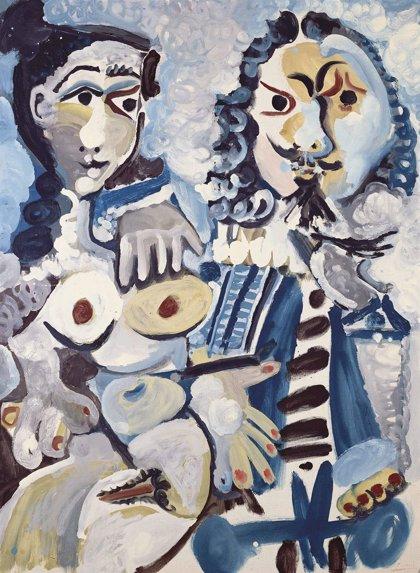Christie's subasta Mousquetaire et nu assis, de Picasso, por un precio de hasta 20 millones de euros