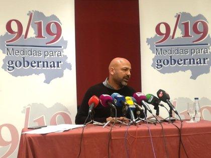 García Molina, convencido de que renta básica y leyes de Garantías Ciudadanas, Vivienda y Participación estarán en 2018