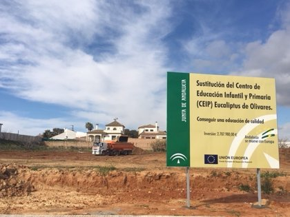 Ayuntamiento de Olivares (Sevilla) destaca el inicio de las obras del nuevo colegio, con 2,7 millones de Junta