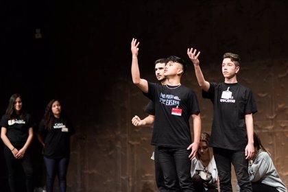 Más de 120 estudiantes y profesores participaron este fin de semana en el encuentro teatral CaixaEscena 2018