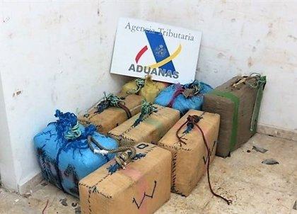 La Agencia Tributaria intervino 13,3 toneladas de cocaína en 2017 en Andalucía, casi cuatro veces más que en 2016