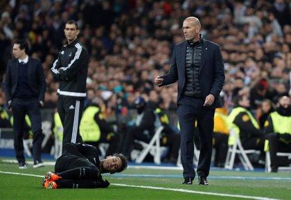 """Zidane: """"No estoy contento por la lesión de Neymar, ojalá pueda estar en la vuelta"""""""
