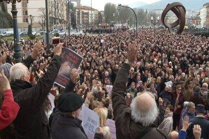 Miles de pensionistas se concentran de nuevo en Bilbao contra la pérdida de poder adquisitivo