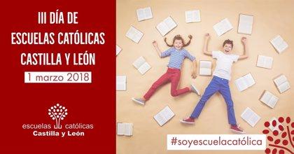 La educación católica concertada celebra el 1 de marzo el Día de Escuelas Católicas Castilla y León 2018