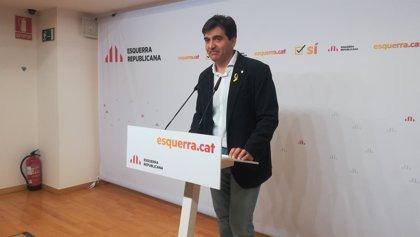 """ERC confía llegar al pleno del jueves con el acuerdo con JxCat y la CUP """"muy cerrado"""""""