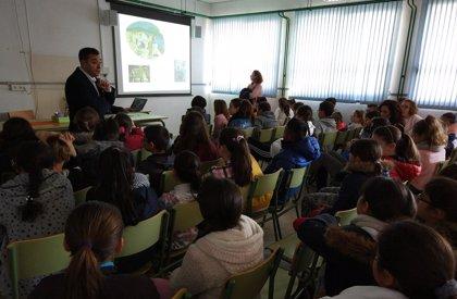 La Junta destaca la importancia del 28-F en el colegio San Juan de la Cruz