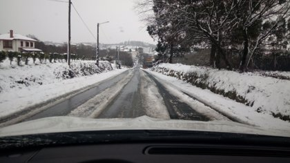 Delegación de Gobierno activa la alerta por nevadas en las carreteras estatales y prepara las 169 quitanieves