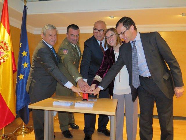 Presentación sello conmemorativo del XX aniversario del Protocolo de Madrid