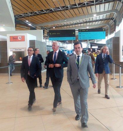 Patronato y Círculo Empresarial visitan las nuevas instalaciones del aeropuerto de Faro