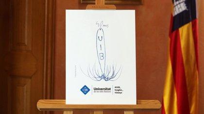 El artista Miquel Barceló diseña un logotipo para conmemorar el cuarenta aniversario de la UIB