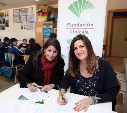 La Fundación Unicaja respalda a la asociación Nena Paine y su lucha contra el fracaso escolar en Málaga capital