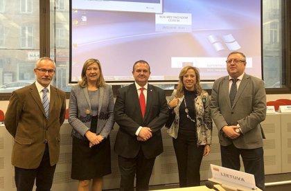 Asturias, CyL y Aragón acuerdan constituirse en una multiregión europea para facilitar la transición energética