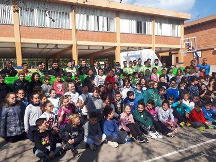 """El """"futbolín humano"""" empieza este lunes su recorrido por las escuelas de Mallorca"""