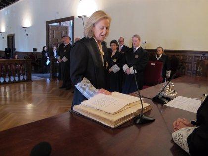 María Luisa Alejandre toma posesión como presidenta de la Sala Contenciosa del TSJA en Sevilla