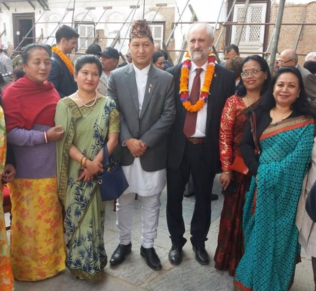 Cueto en Katmandú
