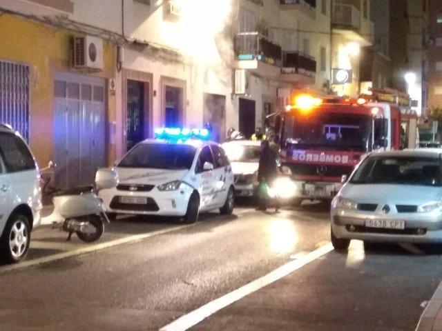 Policía Local y Bomberos de Almería