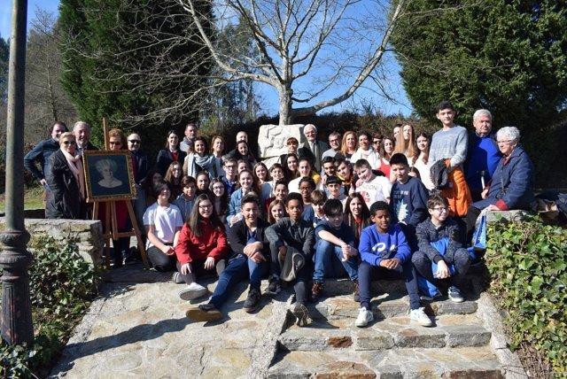 Homenaje a Filomena Dato en Bergondo