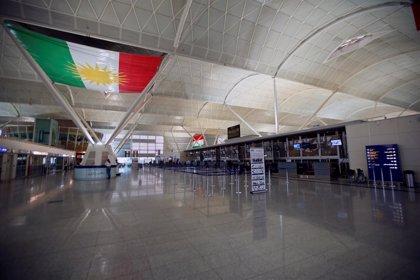 Irak prorroga tres meses la prohibición de vuelos en los aeropuertos de la región del Kurdistán iraquí