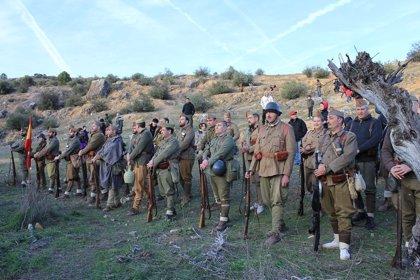 El municipio de Morata de Tajuña recrea un museo viviente para dar a conocer la Batalla del Jarama de la Guerra Civil