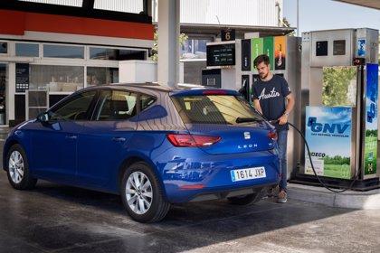 El GNC, combustible más económico del mercado con un coste de 3,23 euros cada 100 kilómetros