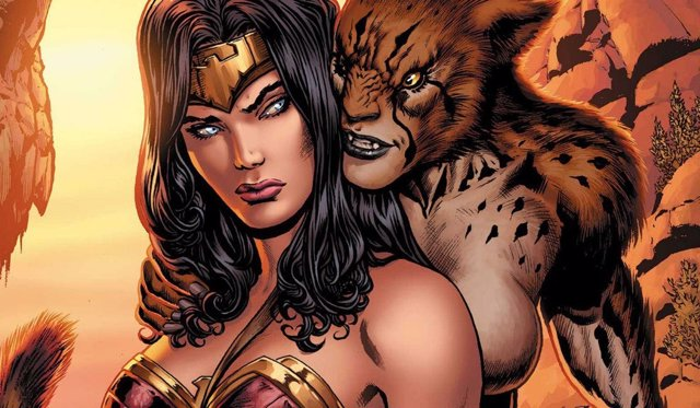 Wonder Woman y Cheetah