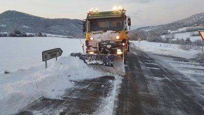 La nieve alcanza Reus (Tarragona) y deja grosores de 24 centímetros en Vic (Barcelona)