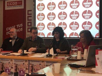 """Cumbre Social llama a secundar la huelga del 8M, movilización """"necesaria"""" ante la """"intolerable"""" situación de la mujeres"""