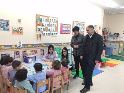 Educación y el Ayuntamiento de Sesma firman el protocolo de actuación para adaptar el centro de 0 a 3 años
