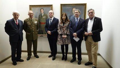 El Museo Revello de Toro de Málaga acoge una muestra de retratos de jefes del Estado Mayor de la Defensa