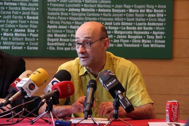 Salvador Sunyer, director del Temporada Alta