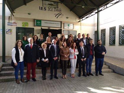 Inauguran el proyecto 'Aulas Andaluzas' en el IES 'La Bahía' de San Fernando (Cádiz)