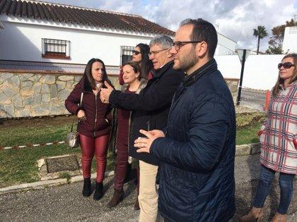 Diputación de Cádiz destina 250.000 euros a ejecutar nueve obras en Castellar con el Plan Invierte