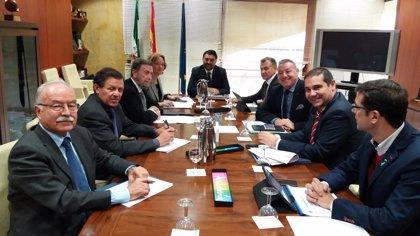 Junta y autoridades portuarias abordan la comercialización y promoción del turismo de cruceros