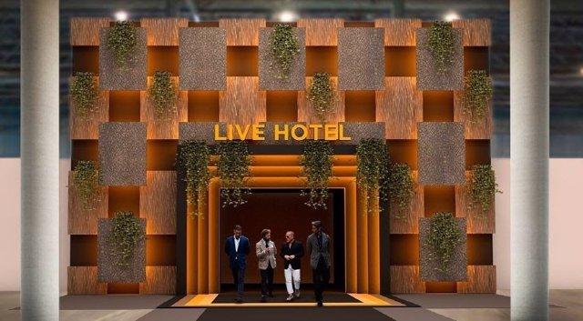Área 'Live Hotel' de Hostelco