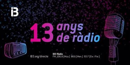 IB3 Ràdio sale a la calle con programación especial por su 13º aniversario y el Dia de les Illes Balears