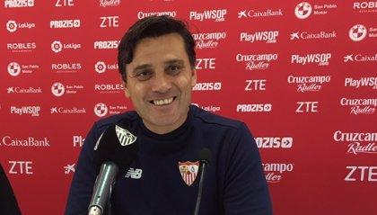 """Montella: """"Espero un partido intenso por el Málaga, que cree en la remontada"""""""