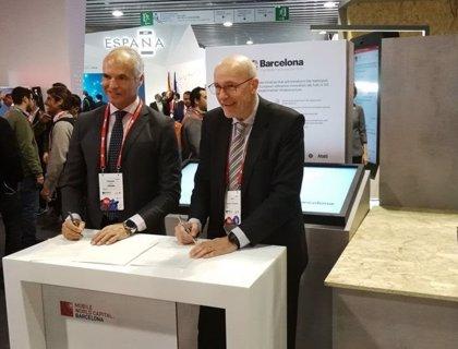 Eurona y la Fundación MWCapital Barcelona impulsan el desarrollo del 5G en Barcelona